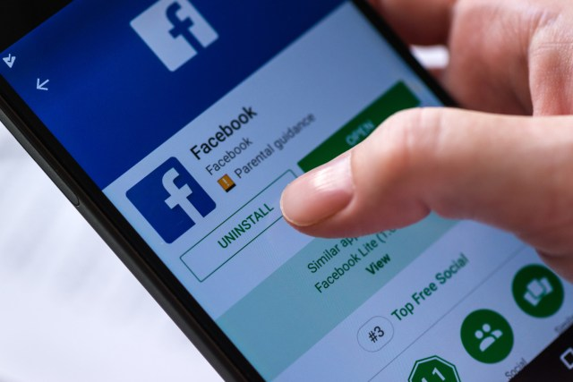 Facebook collects data after you deactivate your account