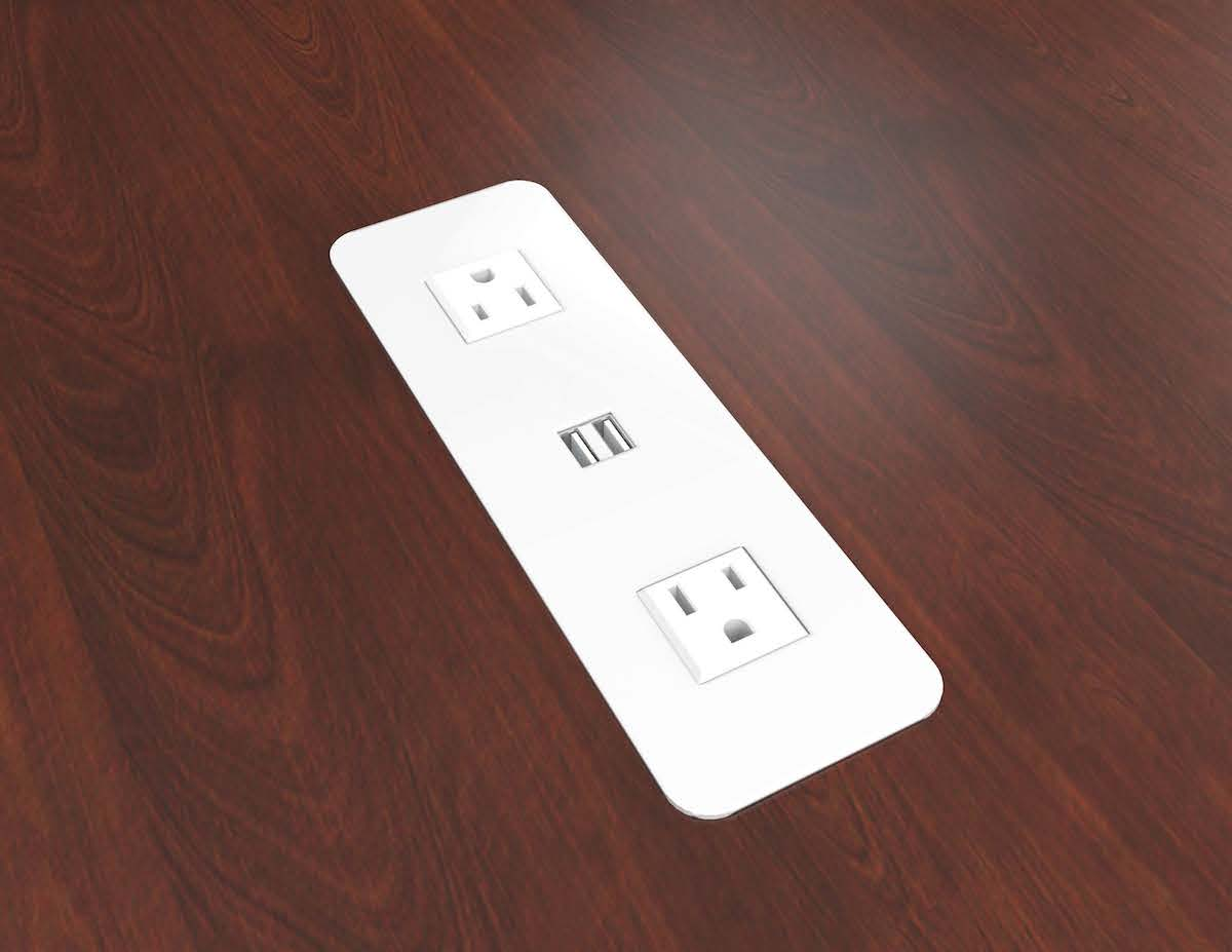 Interior Surface Mount Electrical Outlet