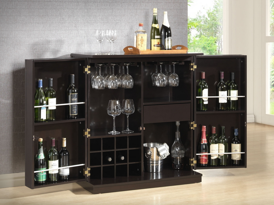 Tuscany Dry Bar and Wine Cabinet  Eat Drink and