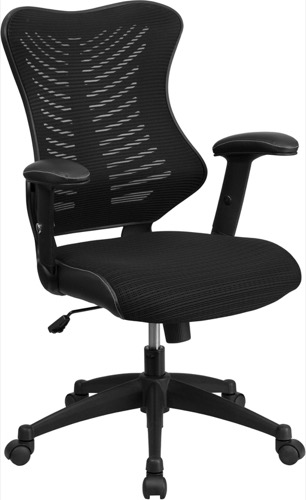 contemporary office chairs steel chair wrestling magazine with ventilated high back black designer mesh executive swivel padded seat bl zp 806 bk gg