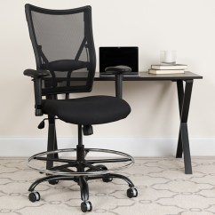 Drafting Chairs With Arms Office Chair Headrest Attachment Enhance Your Posture And Well Being A Big Tall Swivel Capacity Black Mesh Height Adjustable Wl 5029syg Ad Gg