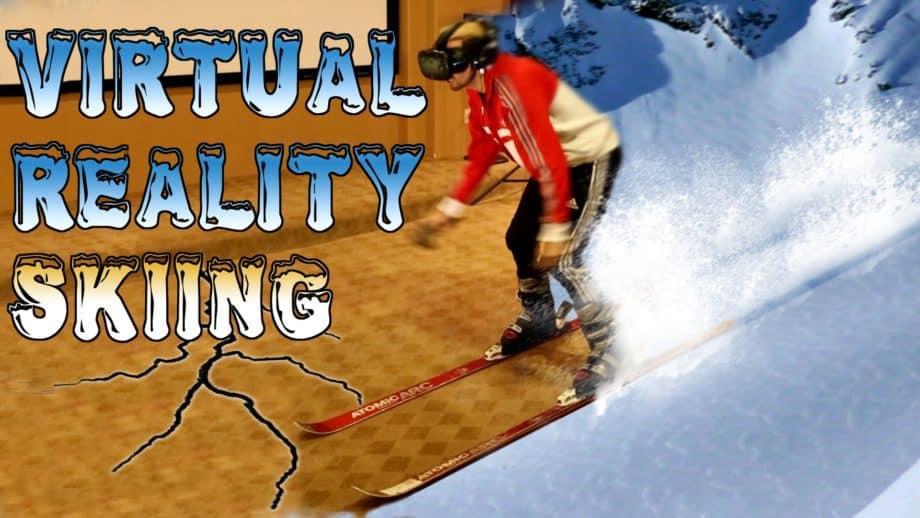 [Communauté]- Quand Arthur fait du ski pour la première fois en réalité virtuelle