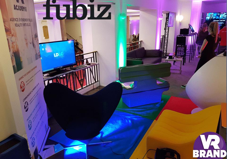 Animation en réalité virtuelle Fubiz Talk salle Pleyel