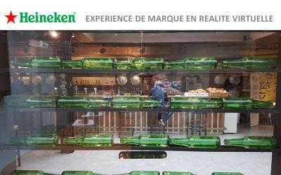 La réalité virtuelle pour vos événements d'entreprise – Cas client Heineken