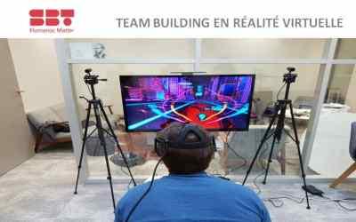 ► Animation du Team Building en Réalité Virtuelle chez  SBT HUMAN(S) MATTER
