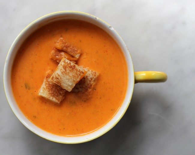 Roasted Tomato Soup -- VRAI Magazine
