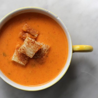 Roasted Tomato Soup -- VRAI Magazine