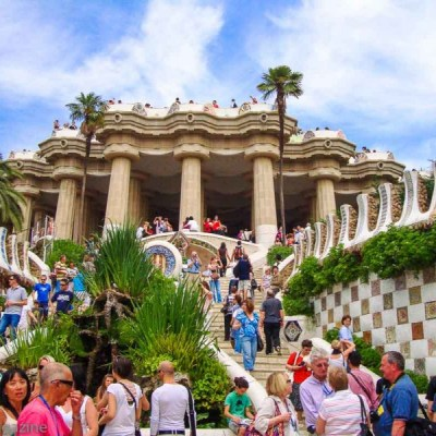 Park Guell in Barcelona, Spain -- VRAI Magazine