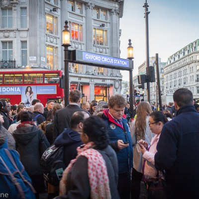 Oxford Circus, London -- VRAI Magazine