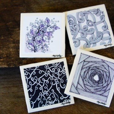 Coasters by MJ Cadiz -- VRAI Magazine