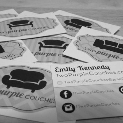Emily Kennedy Blog Business Cards