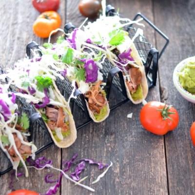 Slow Cooker Mexican Pork Tacos