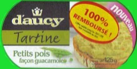 d'Aucy tartine premier achat rembourse