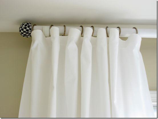 Astuce pour avoir des rideaux blancs