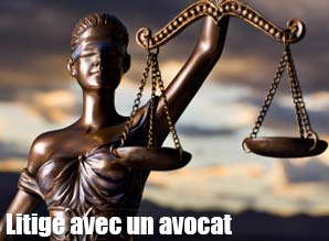 Litige avec un avocat