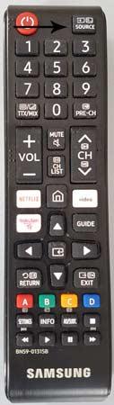 SAMSUNG TV TELECOMMANDE TNT