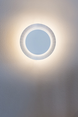indirect lighting by 35 micro perforations