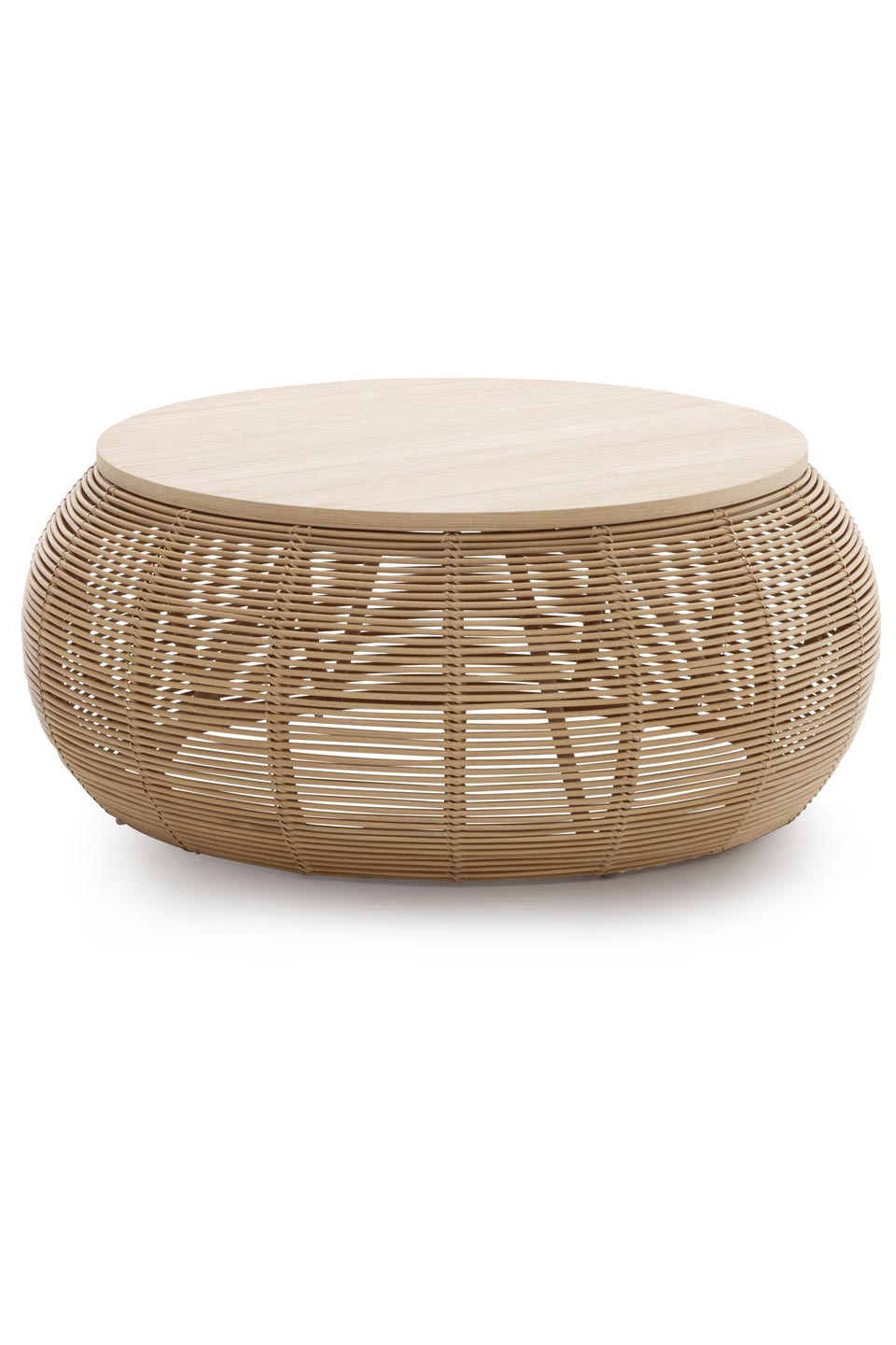 rattan and wood coffee table matching baskets and coffee tables