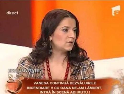 Vrajitoarea Vanessa pe un post tv