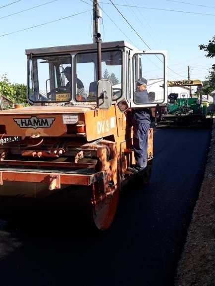 asfaltare drum comunal 2