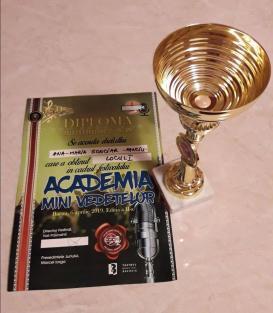 diploma trofeu