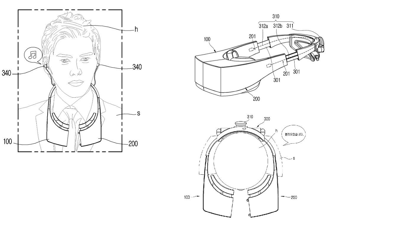 New Lg Vr Headset Patents Reveal Redesigned Way To Take