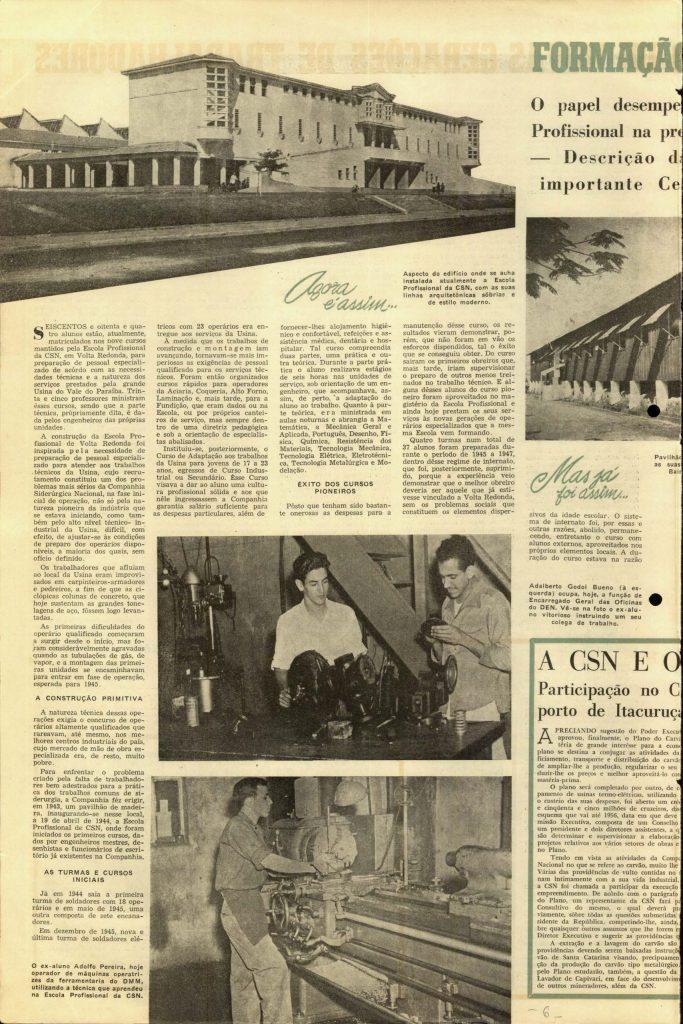 Volta Redonda -OLingote Edição 7 – 25 de Junho de 1953 - Página 6