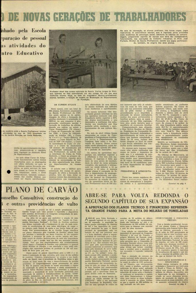 Volta Redonda -OLingote Edição 7 – 25 de Junho de 1953 - Página 7
