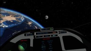 Discovering Space VR Game Screenshot