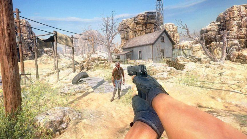 arizona sunshine vr shooter game for oculus rift screenshot