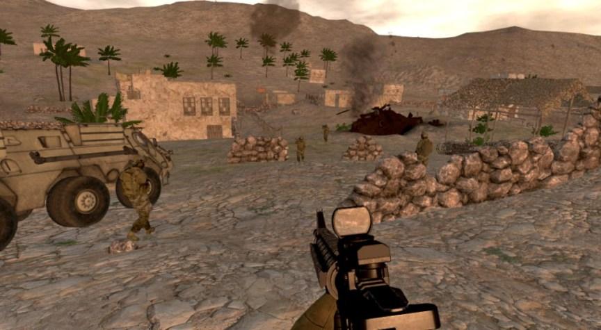 onward vr shooter game for oculus rift screenshot