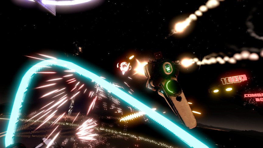 space pirate trainer vr for oculus rift screenshot