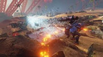 Landfall for Oculus Rift game play screen grab