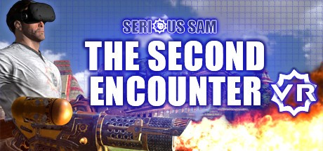 serious sam the second encounter man with vive mask and machine gun