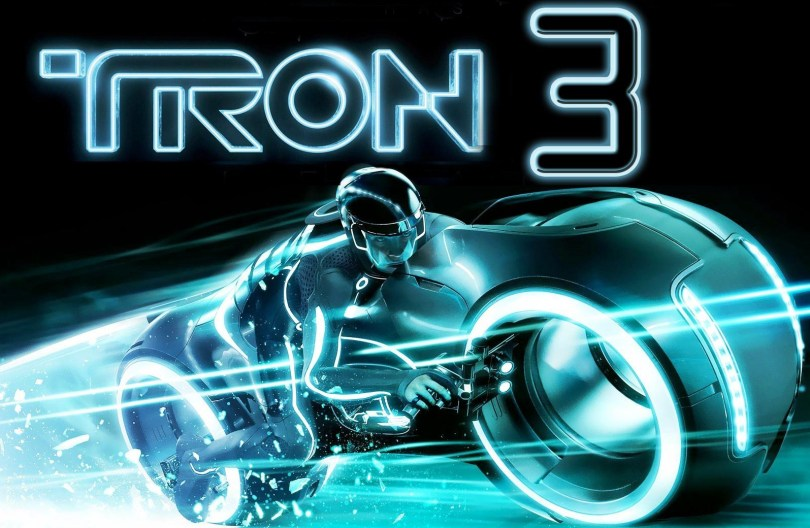 tron3 rider and cycle