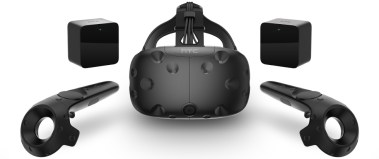 htc vive headset and controllers and sensors