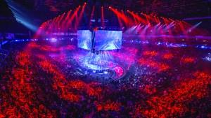 Giant esports arena, future of virtual reality sports