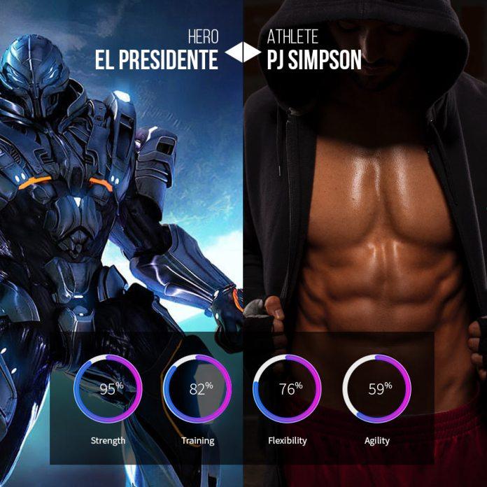 vsports avatar mockup, virtual reality sports