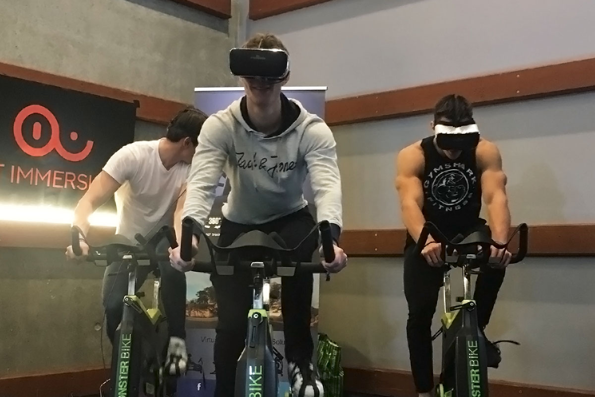 Help Crowd Fund Wireless VR Cycling With Fit Immersion On Indiegogo