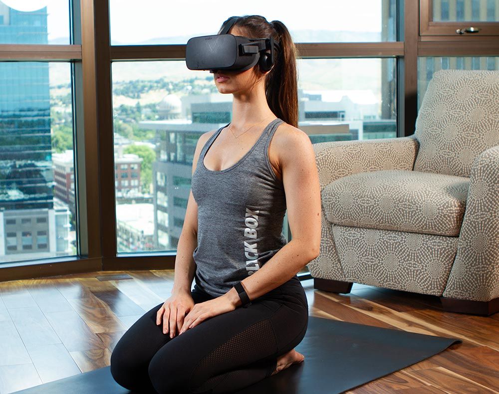 Use VR To Relax, Sleep Deeper, for Better Health and Lower BMI