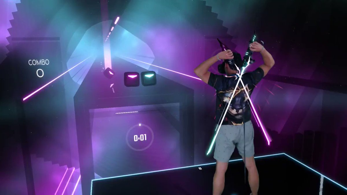 what is needed to play beat saber
