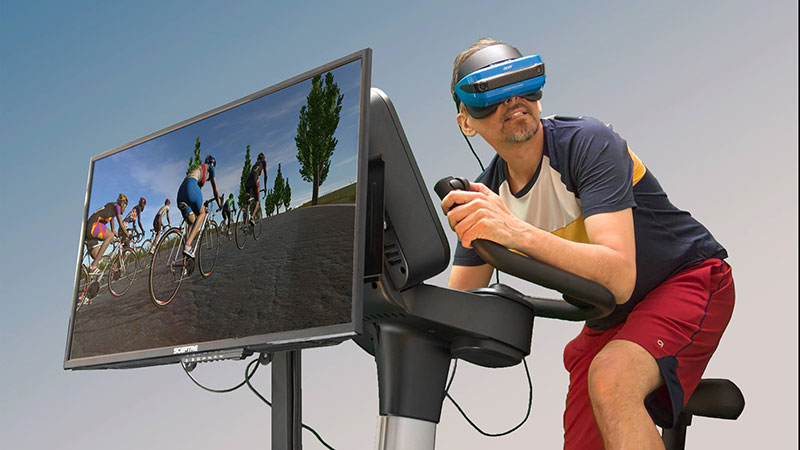 VirZOOM Tells Us That a Stationary Bike is the Perfect 6DOF Controller