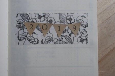 Minimalistische bullet journal set-up