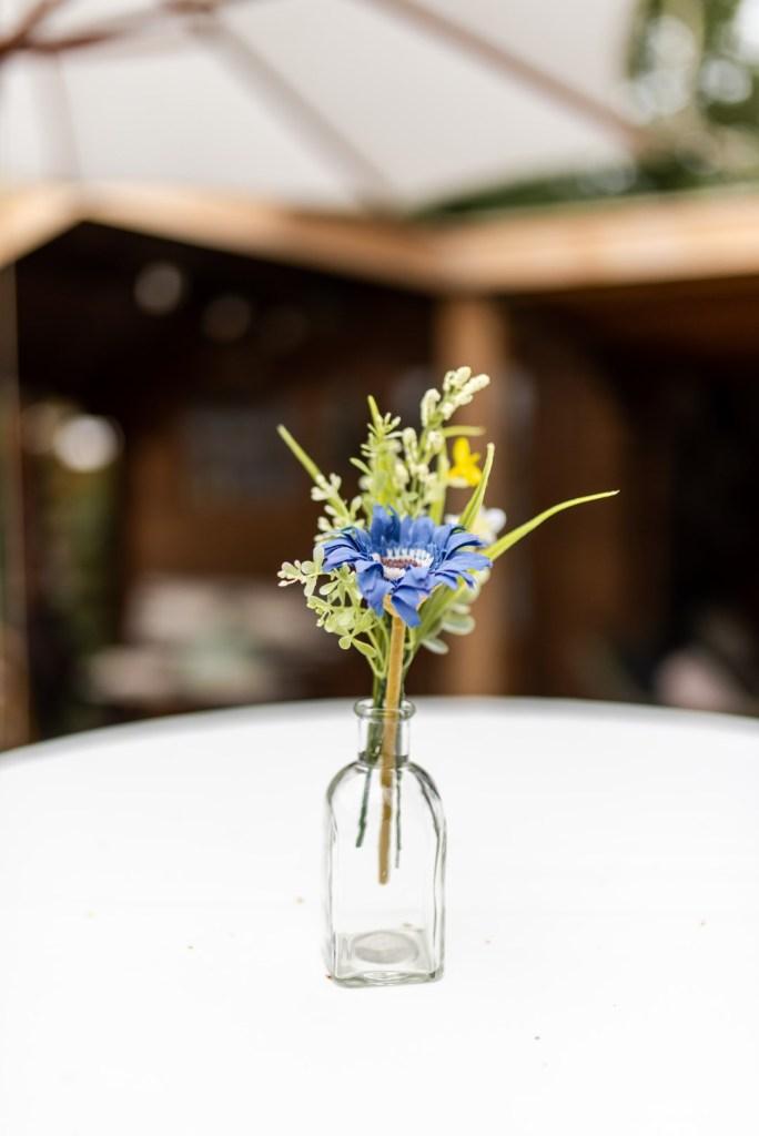 GRATIS een bruiloft decoreren - Bloemen