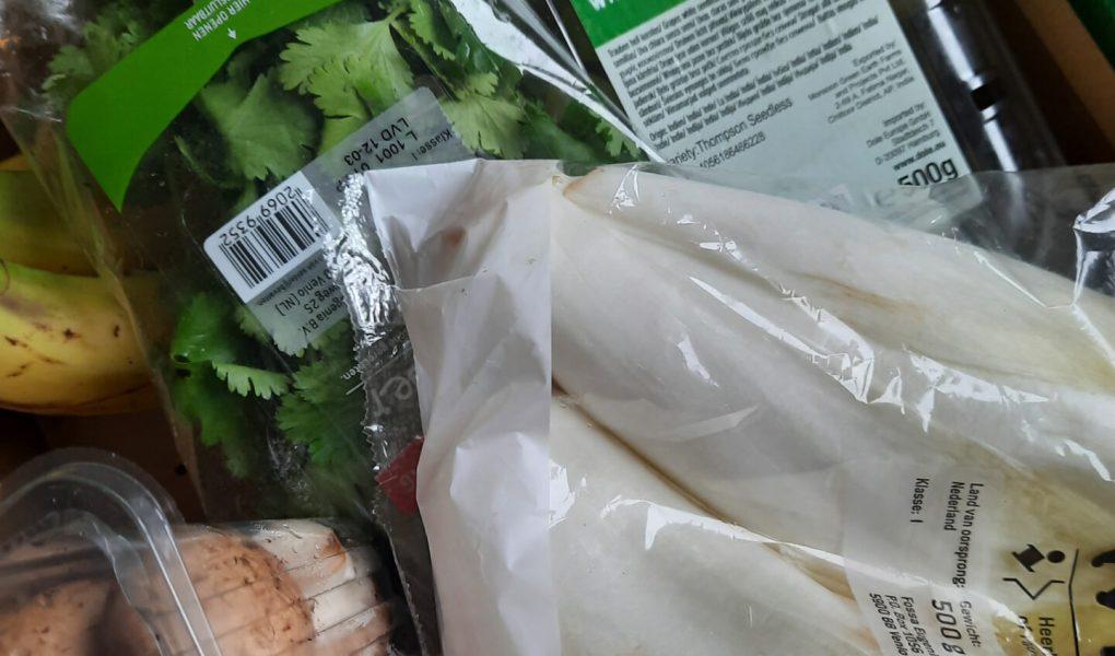 too good to go lidl groente en fruitbox, weekmenu klein budget