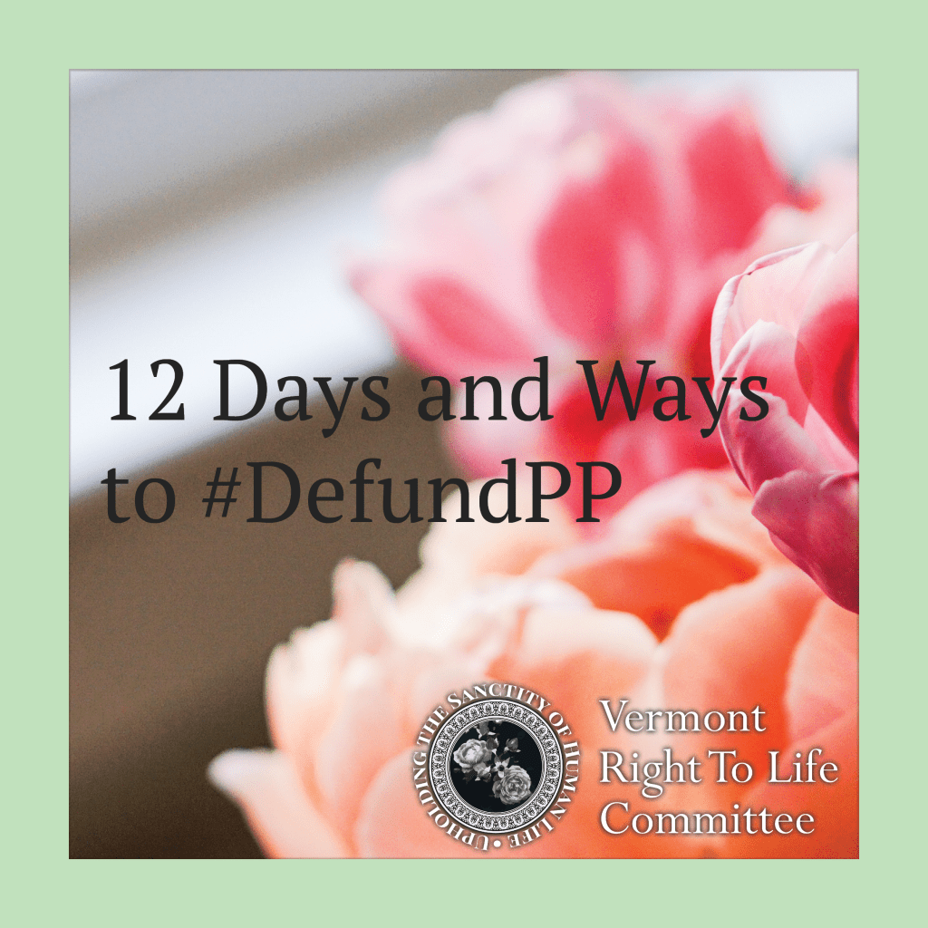 12 Days and Ways to #DefundPP
