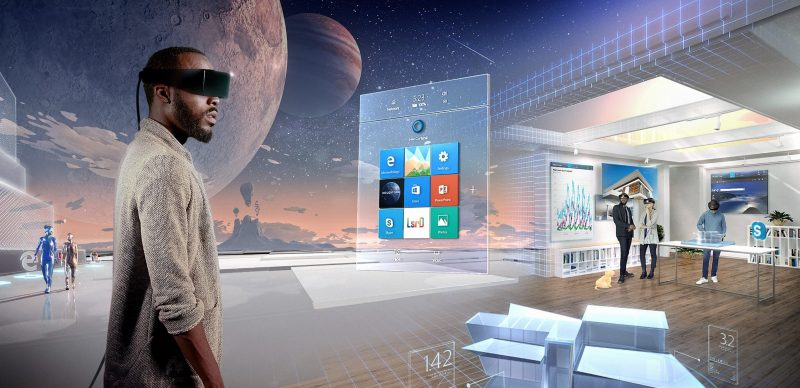 Holographic Mixed Reality