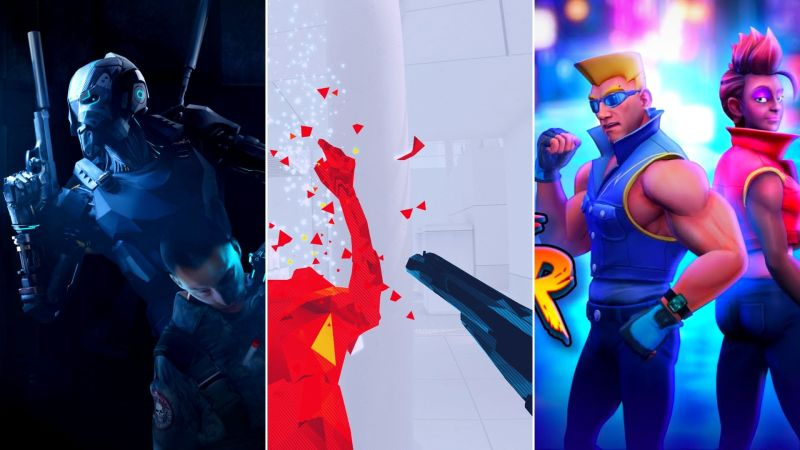 Action games on Oculus Quest