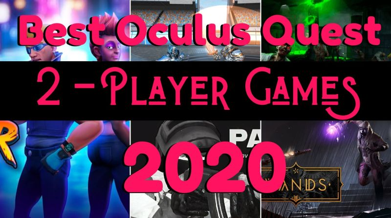 2 Player Oculus quest games