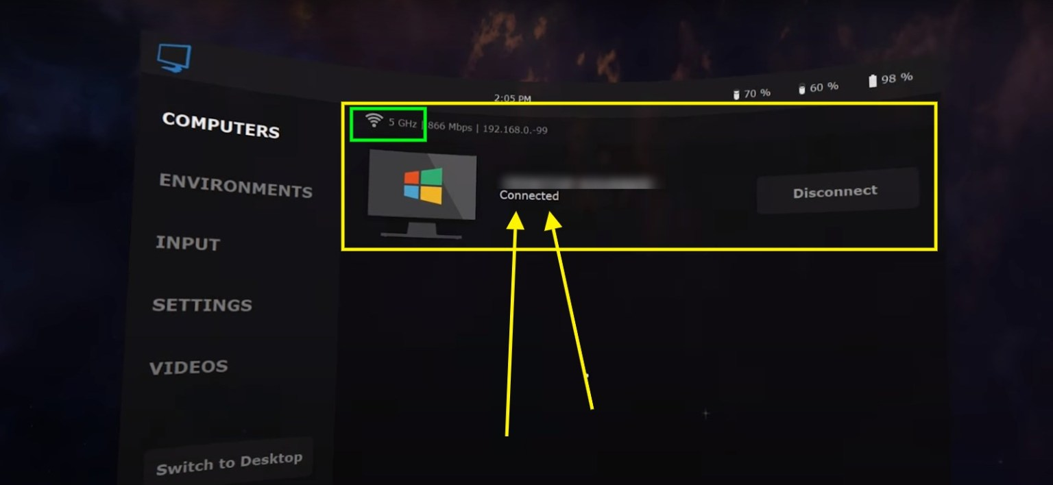 how to use virtual desktop on oculus quest